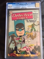 Detective Comics #215 CGC 8.5 ow