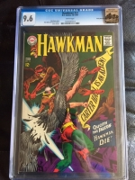 Hawkman #22 CGC 9.6 w Rocky Mountain
