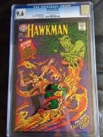 Hawkman #25 CGC 9.6 ow/w