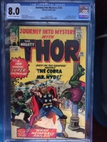 Journey Into Mystery #105 CGC 8.0 ow/w