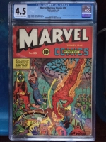 Marvel Mystery Comics #28 CGC 4.5 cr/ow