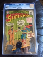 Superman #103 CGC 6.5 ow/w