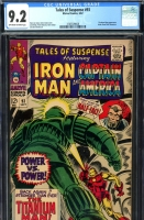Tales of Suspense #93 CGC 9.2 ow/w