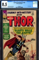 Journey Into Mystery #104 CGC 8.5 ow/w
