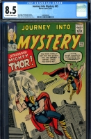 Journey Into Mystery #95 CGC 8.5 ow/w