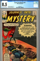 Journey Into Mystery #91 CGC 8.5 ow/w