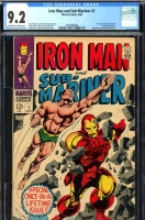 Iron Man and Sub-Mariner #1 CGC 9.2 ow/w