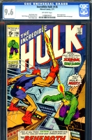 Incredible Hulk #136 CGC 9.6 ow