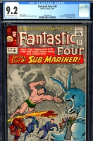 Fantastic Four #33 CGC 9.2 ow/w
