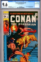 Conan The Barbarian #5 CGC 9.6 ow/w