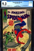 Amazing Spider-Man #53 CGC 9.2 ow/w