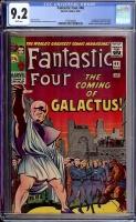 Fantastic Four #48 CGC 9.2 w