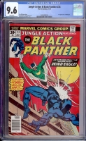 Jungle Action & Black Panther #24 CGC 9.6 w