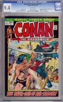 Conan The Barbarian #17 CGC 9.4 w