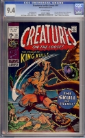 Creatures On The Loose #10 CGC 9.4 ow