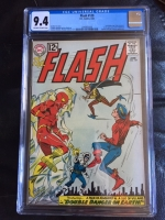 Flash #129 CGC 9.4 ow/w