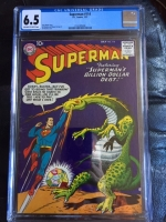 Superman #114 CGC 6.5 ow/w