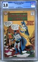 Detective Comics #267 CGC 3.0 ow