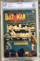 Batman #48 CBCS 2.5 ow