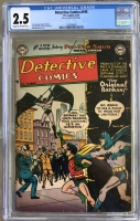 Detective Comics #195 CGC 2.5 cr/ow