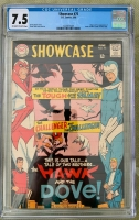 Showcase #75 CGC 7.5 ow/w