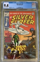 Silver Surfer #10 CGC 9.4 ow/w