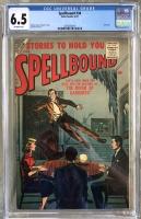 Spellbound #34 CGC 6.5 ow