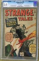 Strange Tales #101 CGC 2.0 ow