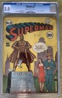 Superman #16 CGC 3.0 cr/ow