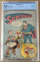 Superman #37 CBCS 4.5 w
