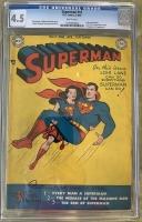 Superman #57 CGC 4.5 w
