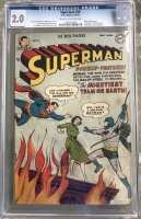 Superman #76 CGC 2.0 cr/ow