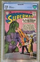 Superman #142 CBCS 7.5 ow/w