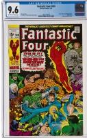 Fantastic Four #100 CGC 9.6 ow/w