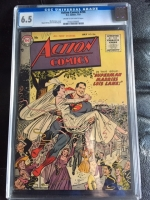 Action Comics #206 CGC 6.5 cr/ow