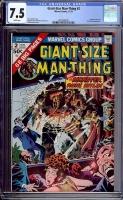 Giant-Size Man-Thing #2 CGC 7.5 w