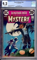 House of Mystery #206 CGC 9.2 w