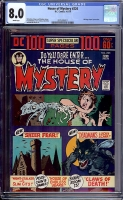 House of Mystery #224 CGC 8.0 w
