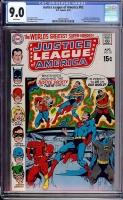 Justice League of America #82 CGC 9.0 w