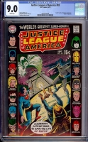 Justice League of America #83 CGC 9.0 w