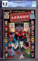 Justice League of America #91 CGC 9.2 ow/w