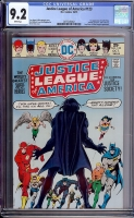 Justice League of America #123 CGC 9.2 w