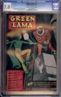 Green Lama #3 CGC 7.0 cr/ow