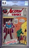 Action Comics #407 CGC 8.5 ow/w Circle 8