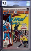 Action Comics #461 CGC 9.2 w Don Rosa Collection