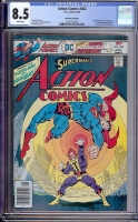 Action Comics #462 CGC 8.5 w Don Rosa Collection