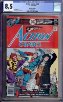Action Comics #463 CGC 8.5 w Don Rosa Collection
