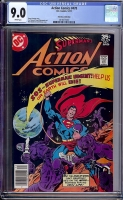 Action Comics #478 CGC 9.0 w Don Rosa Collection