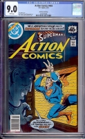 Action Comics #493 CGC 9.0 w Don Rosa Collection
