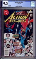Action Comics #548 CGC 9.2 w Don Rosa Collection